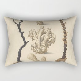 Naturalist Coral Rectangular Pillow