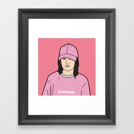 Lydia In The Trap Framed Art Print