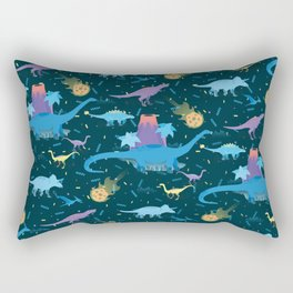 Funky Dinos Rectangular Pillow