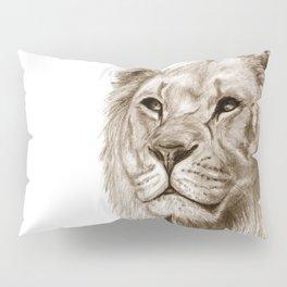 A Lion :: Without Pride Pillow Sham