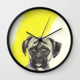 boxer got le mustard Wall Clock
