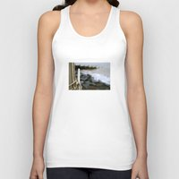 hook Tank Tops featuring hook by double U double O