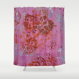 Lakshmi's Footprints Shower Curtain
