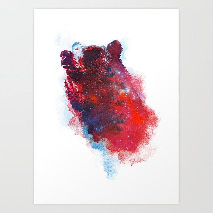 Discover the motif THE GREAT EXPLORER by Robert Farkas as a print at TOPPOSTER