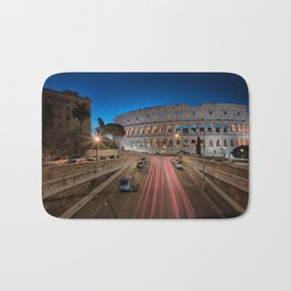 Colosseum at dawn Bath Mat