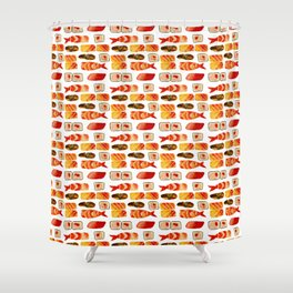 Sushi vibes Shower Curtain