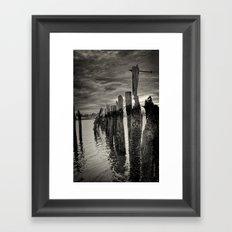 Eroded Framed Art Print