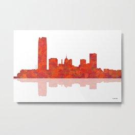 Oklahoma City, Oklahoma Metal Print
