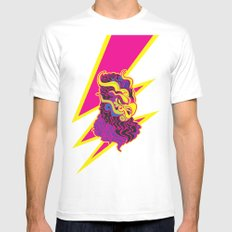 Storm MEDIUM Mens Fitted Tee White
