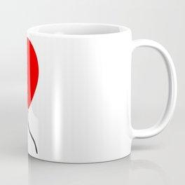 Red Balloon Emoji Coffee Mug
