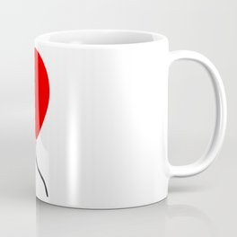 Red Balloon Emoji Coffee Mug