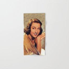 Ethel Merman, Vintage Actress Hand & Bath Towel