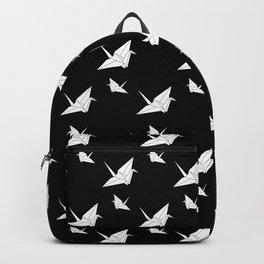 Origami Tsuru Dark Backpack