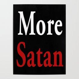 More Satan Poster