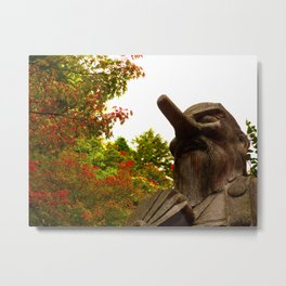 Where are your colors, Tengu? Metal Print