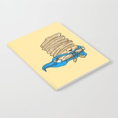Captain Pancake Descends Notebook