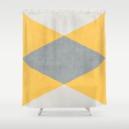 summer time triangles Shower Curtain