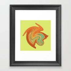 Gerbera art Framed Art Print