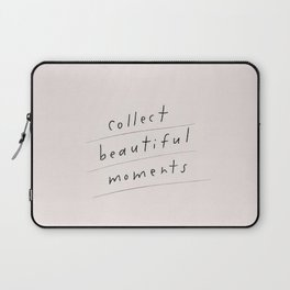 Memories Moments Collect Teen Quotes Laptop Sleeve