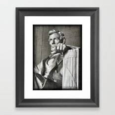 Honest Abe Framed Art Print
