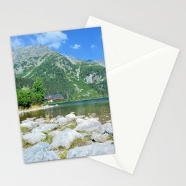 Lake Popradske pleso Stationery Cards
