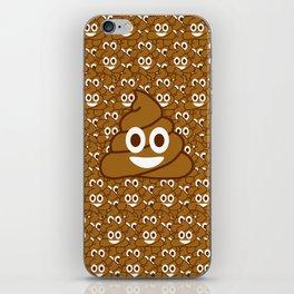 Poop Emoji iPhone Skin