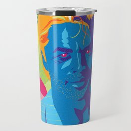 SONNY :: Memphis Design :: Miami Vice Series Travel Mug