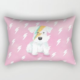 Ziggy the Schnauzer Rectangular Pillow