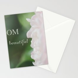 Mom You are beautiful Stationery Cards