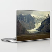 iceland Laptop & iPad Skins featuring Iceland Glacier  by Factory23