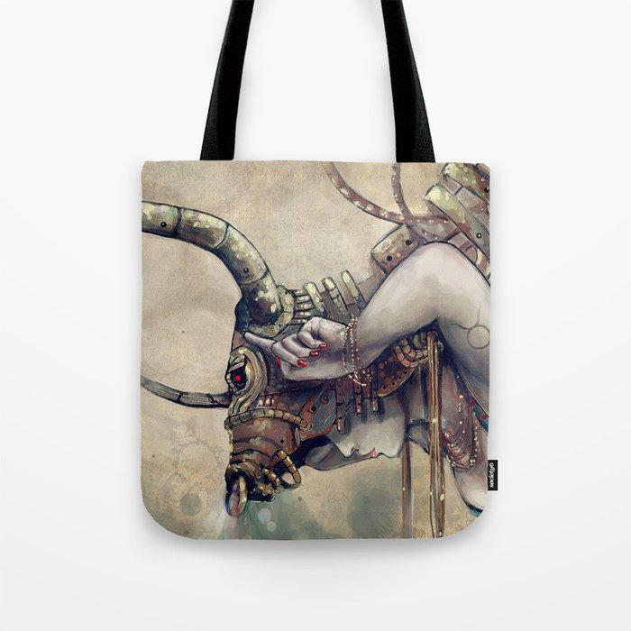Zodiac Sign: Taurus Tote Bag