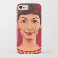 amelie iPhone & iPod Cases featuring Amelie by DC Bowers