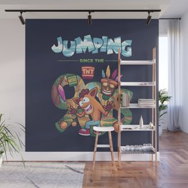 Jumping Since The 90s Wall Mural