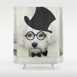 Dogs 8. Shower Curtain