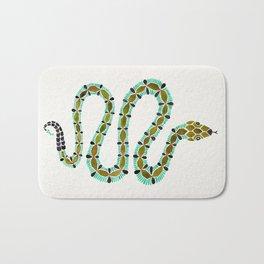 Turquoise Serpent Bath Mat