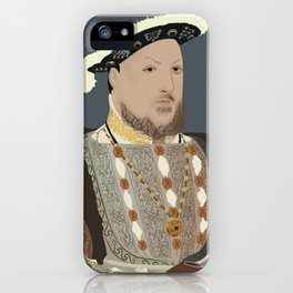 Henry VIII of England iPhone Case