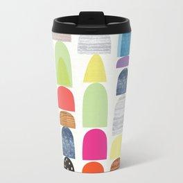 Semi Circles Geos Travel Mug