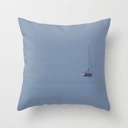 The Lost Horizon Throw Pillow