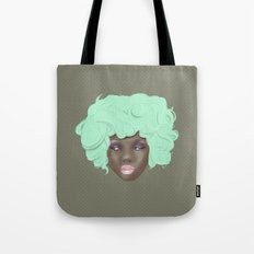 emogirl earth Tote Bag