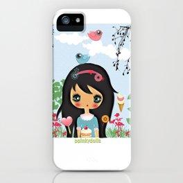 ppinkydolls art print iPhone Case