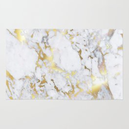 Original Gold Marble Rug
