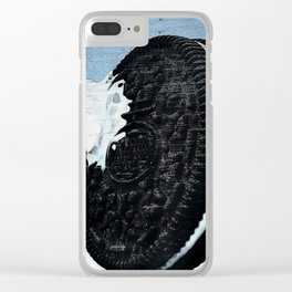 Cookie and Milk Clear iPhone Case