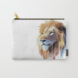 The Lion - watercolor Carry-All Pouch