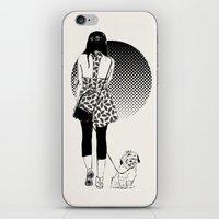 virgo iPhone & iPod Skins featuring virgo by hello friday