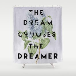 Strange the Dreamer Shower Curtain