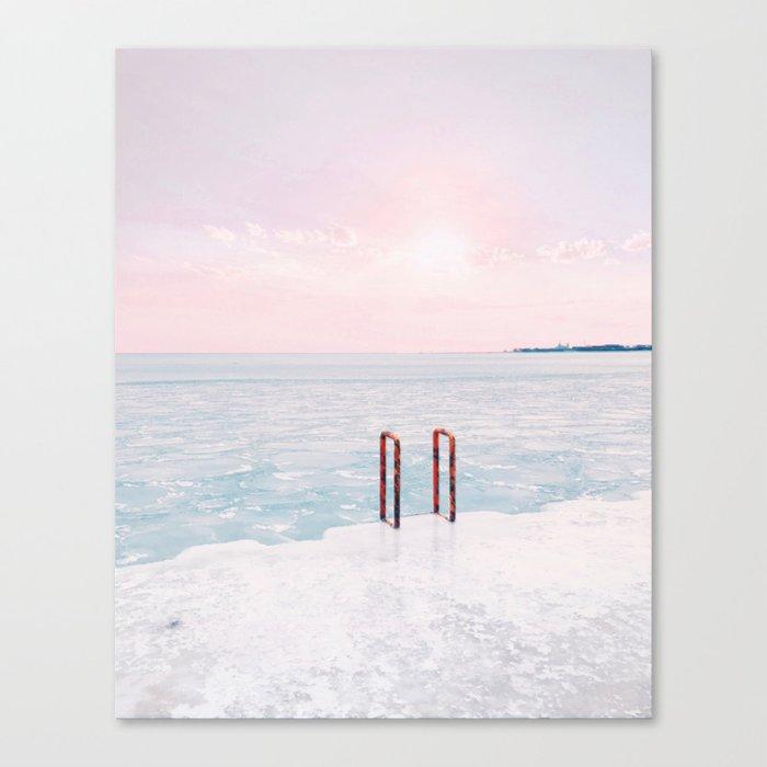 Lake Michigan Sunrise, Chicago Leinwanddruck