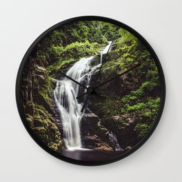 Wild Water - Landscape and Nature Photography Wall Clock