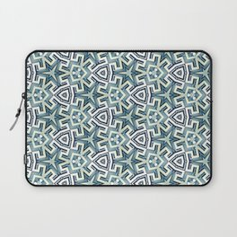 Blue Maze Laptop Sleeve