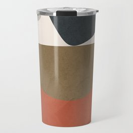 Abstract Balancing Stones Travel Mug