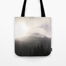 Colorado Mountain Pass Tote Bag